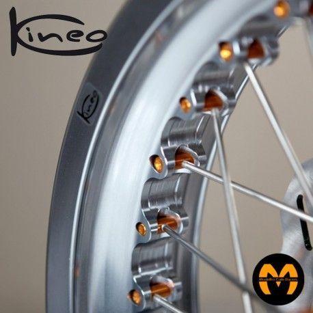 Kit Recambio Radios-Nipplos Posterior - 4 uds - KINEO Wheels