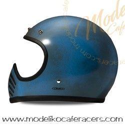 Casco DMD Carbon Kevlar Seventy Five Arrow Blue