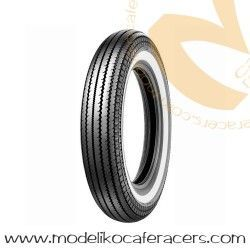 Neumático SHINKO E-270 3.00-21.0 57S TT Front Banda Blanca