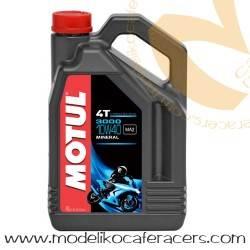 Aceite motor 10W40 4T Motul mineral 3000 - 4 Litros