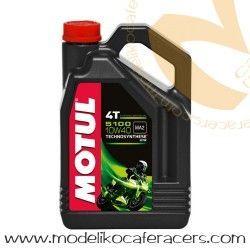 Aceite motor 10W40 4T Motul HC-Sintético 5100 4 Litros