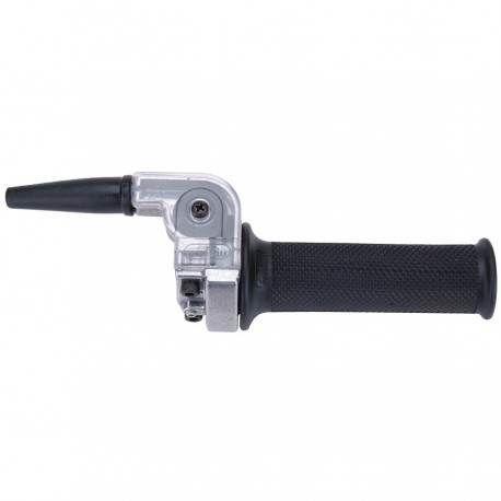 Puño de Gas Domino Moped Negro, 22 mm