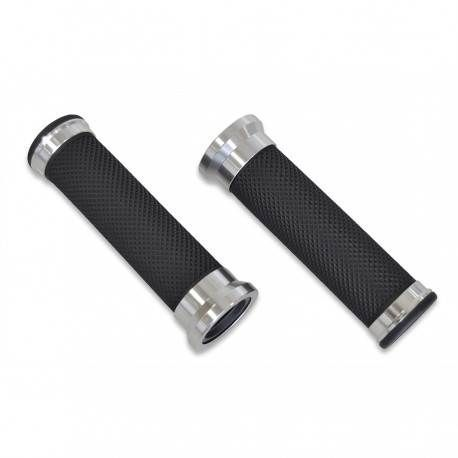 Par de Puños Aluminio Fresado CNS 22mm
