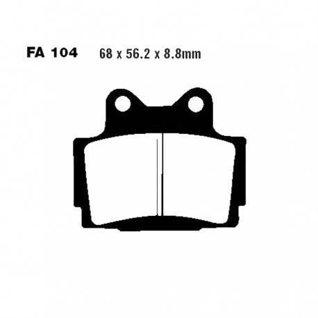 Pastillas de Freno Delantero Sinter. EBC - Yamaha RD350