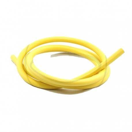 Cable de encendido 7mm Silicona - 1 mt - Amarillo