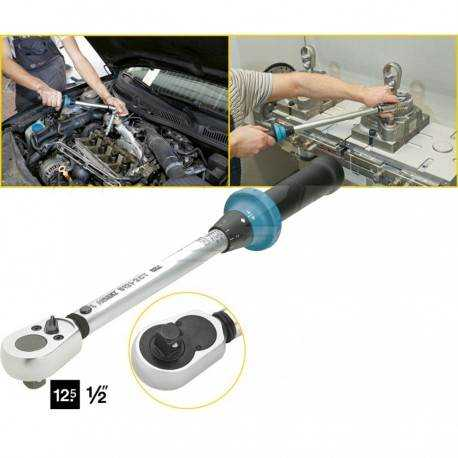 Llave dinamométrica 20-120 Nm Hazet 1/2 pulgada