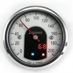 Velocimetro Motogadget Tiny 200 km/h - 53 mm