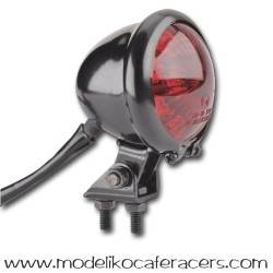 Piloto trasero Negro Shin-yo LED mini retro