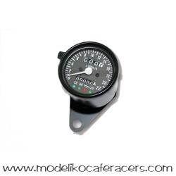 Velocímetro Electrónico Negro 60 mm