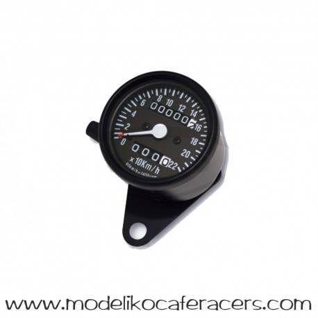Velocímetro Electrónico Negro 60 mm M12x1.00mm