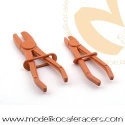 Pinzas de nylon para mangueras de gasolina o tubos flexibles