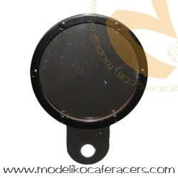 Soporte Porta Tasas Cromado Anodizado Negro